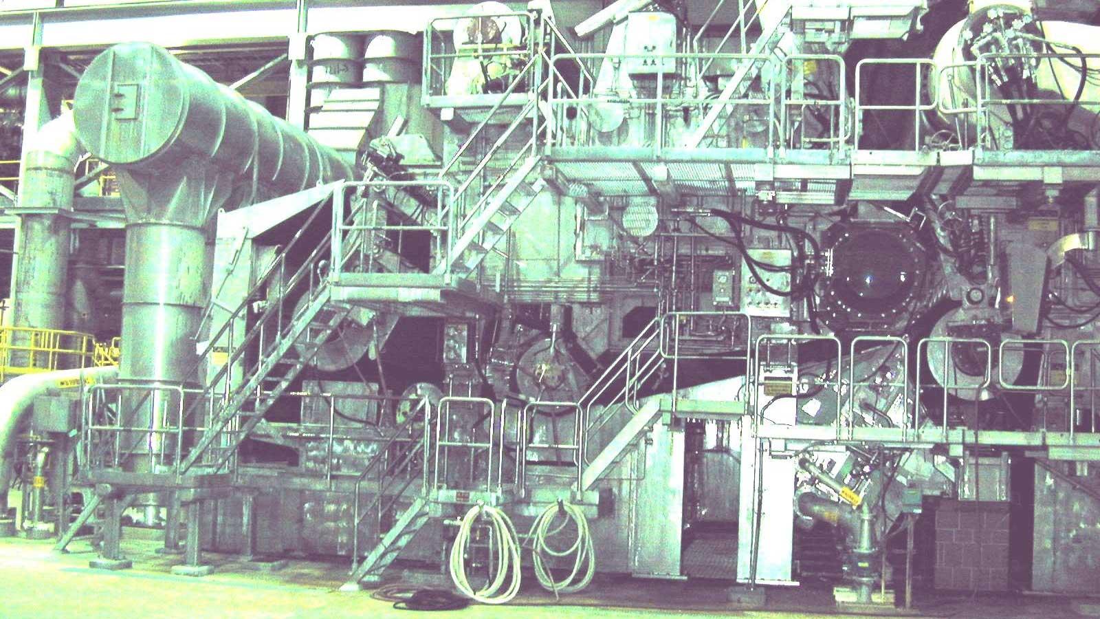 Lufkin No. 8 Paper Machine Former