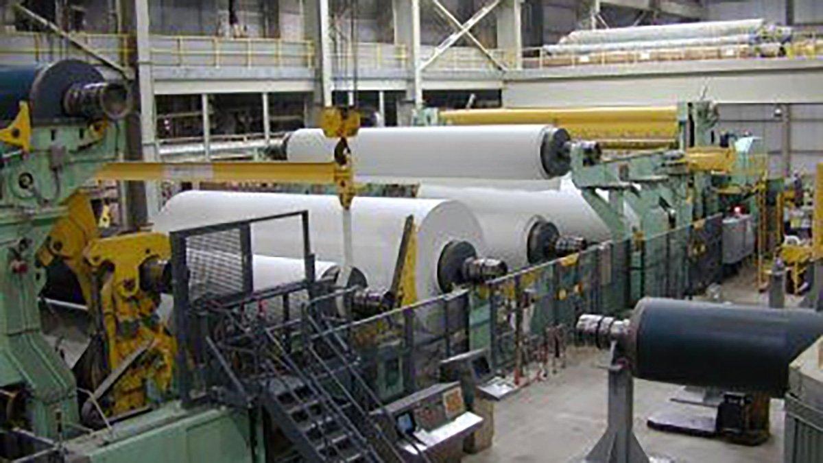 Lufkin No.8 Paper Machine Reel and Winder