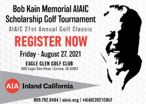 Bob kain memorial AIAic Scholarship Golf Tournament