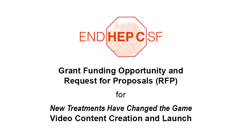 Grant Funding Opportunity and Request for Proposals for New Treatments Have Changed the Game Video Content Creation