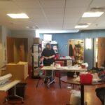 GLIDE Harm Reduction team work on kit packing