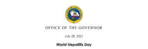 2021 World Hepatitis Day Gov. top