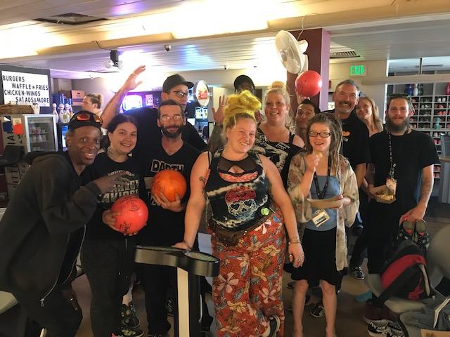 End Hep C SF Community Navigator bowling party