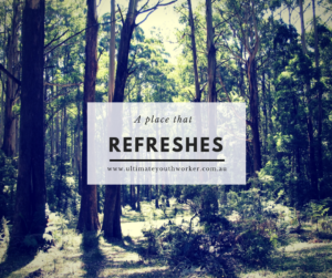 a place that refreshes