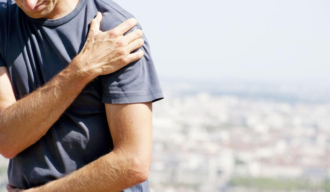 Do you have shoulder pain shooting down your arm?