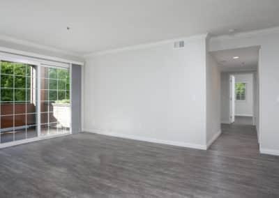 Entrance into empty apartment