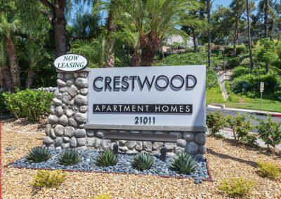 Crestwood property signage