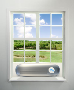 NightBreeze Window Unit Illustration