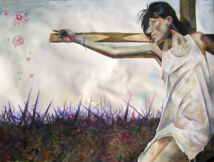 Hope and Memory Watercolor Shiva Gallery Art Image