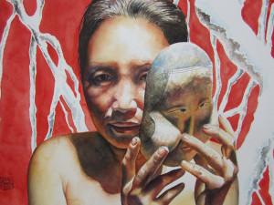 Identity Watercolor Shiva Gallery Art Image