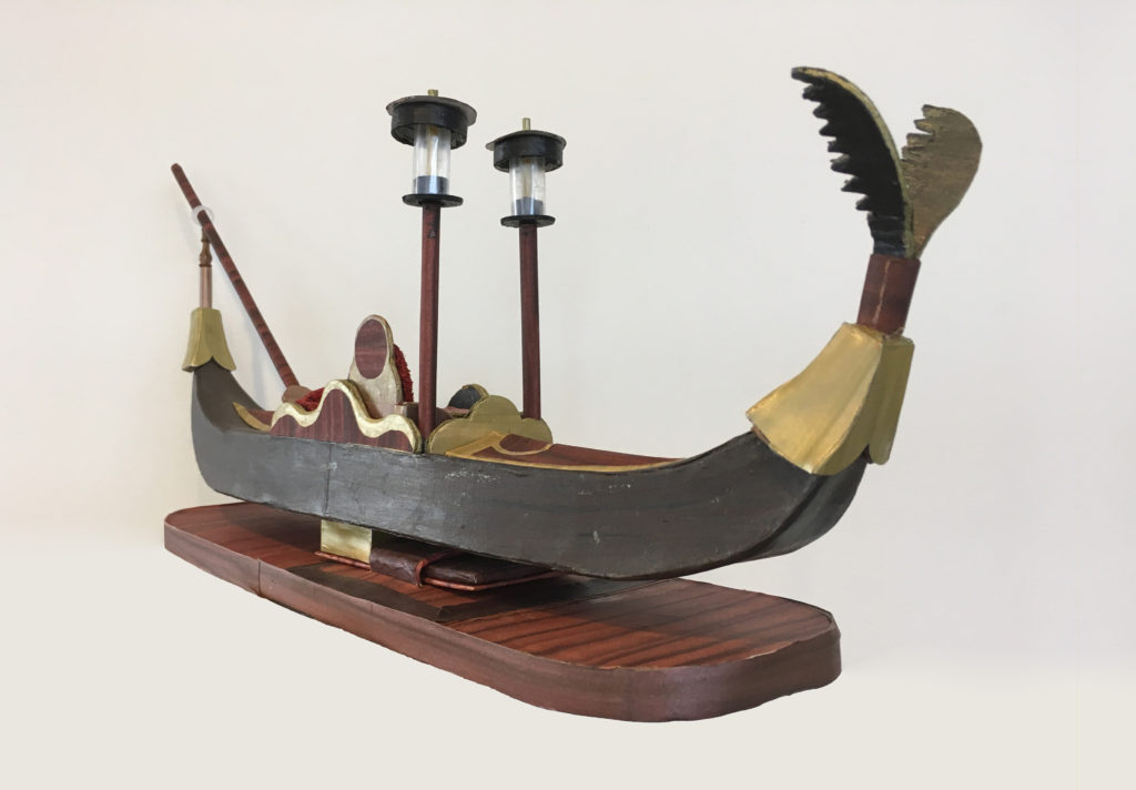 Moath al Alwi Model Ship Gondola