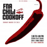 5th Annual FNA Chili Cookoff