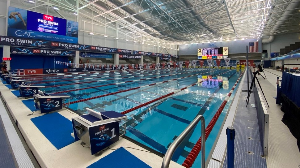 Greensboro Aquatic Center Exceeds Industry Standards with USS