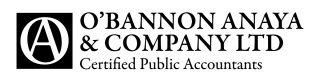 O'Bannon Anaya CPAs Logo
