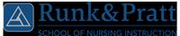 Runk & Pratt School of Nursing Instruction Logo