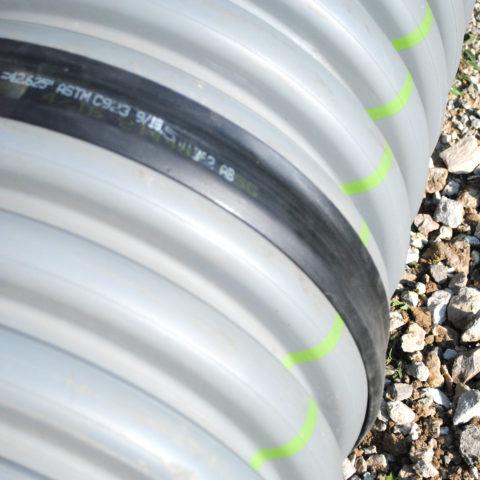HDPE pipe gasket