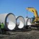 4G pipe gasket large pipe