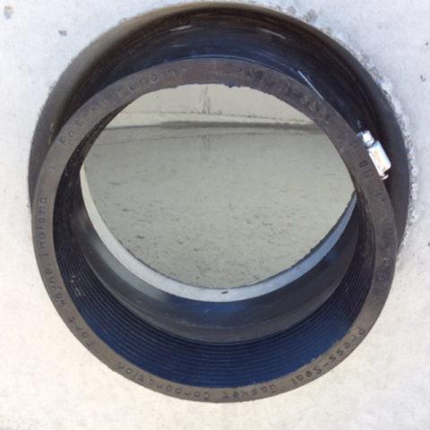 CAS 1208 closeup in manhole