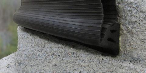 RFS manhole pipe gasket cross section