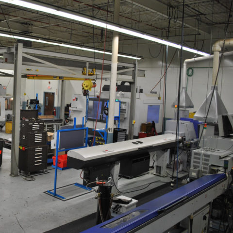 Rail products precision manufacturing