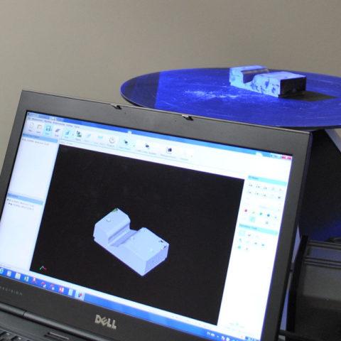 Blue light scanning capabilities