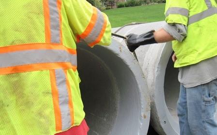Equalizing concrete pipe gasket