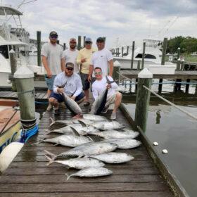 Pirates Cove yellowfin tuna fishing
