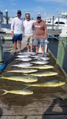 Pirates Cove, NC tuna fishing