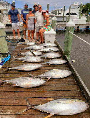 Pirates Cove tuna fishing