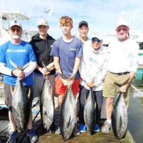 Outer Banks, NC tuna fishing charter