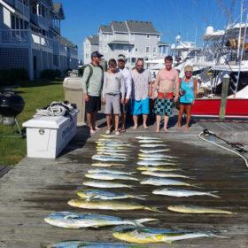 Charter Fishing and Mahi