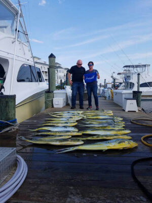 Mahi-Mahi deep sea fishing