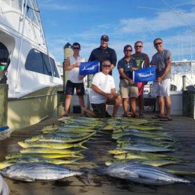 Mahi-Mahi charter boat