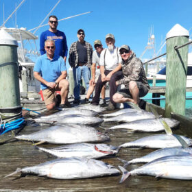 Pirates Cove in North Carolina tuna sport fishing