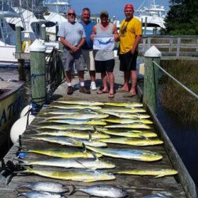 Mahi sport fishing