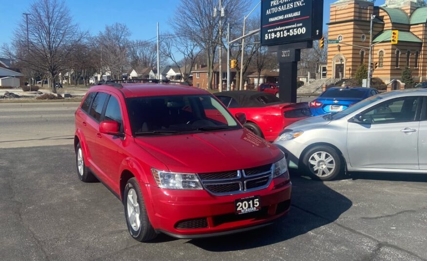 2015 Dodge Journey SE Plus- 7 PASSENGER, Very Clean