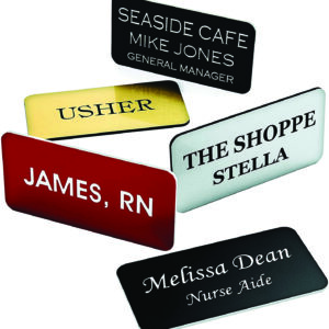 Name Badge / ID Products / Custom Cutting