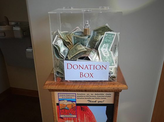 GSENM Partners Donation Box