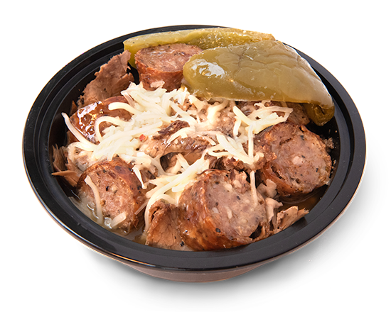 Italian Beef & Sausage Bowls