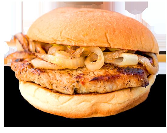 Maxwell Street Pork Chop Sandwich