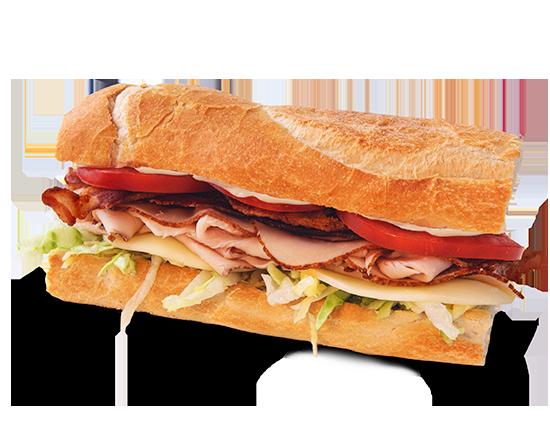Roast Turkey Bacon Sub