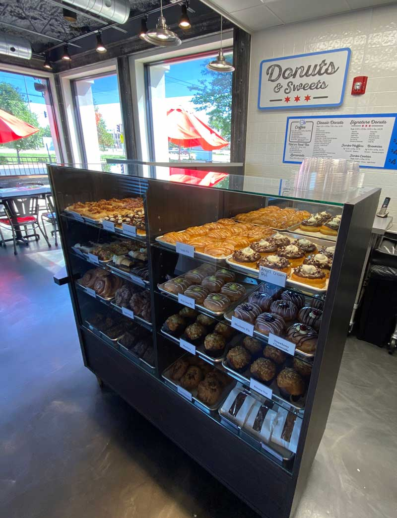 Our Donut Selection of over 30 donuts