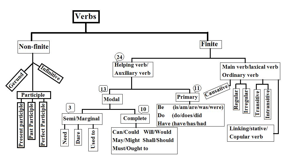 Verbs- All verbs graph.