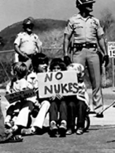 """""""A QUESTION OF POWER is a powerful, informative and very well-made documentary on the antinuclear power movement."""
