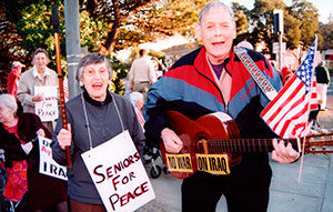 """""""SENIORS FOR PEACE beautifully portrays an engaging senior peace group whose intelligence, commitment, passion and dedication are truly inspirational. The film should be seen by Americans of all ages."""""""