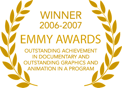 two Emmy Awards from the Academy of Television Arts and Sciences