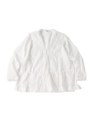 Khadi Cotton Lace Cache-Coeur Blouse