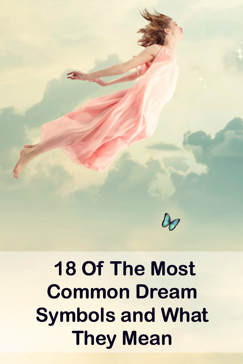 18 Of The Most Common Dream Symbols and What They Mean ~