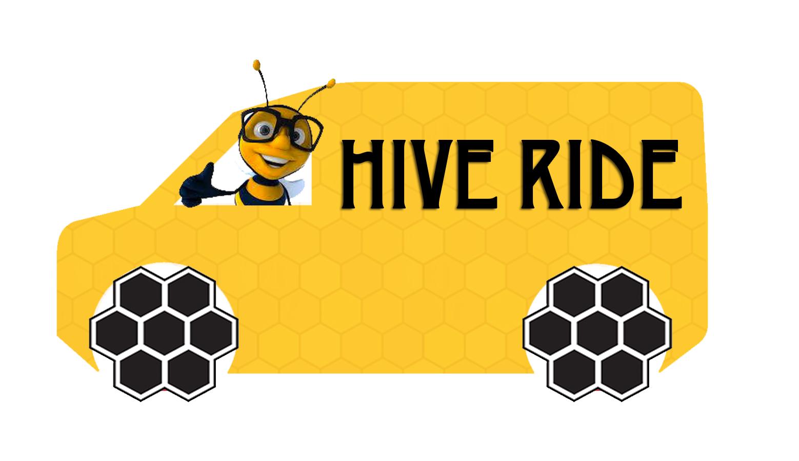 Hive Ride Logo (employee shuttle)