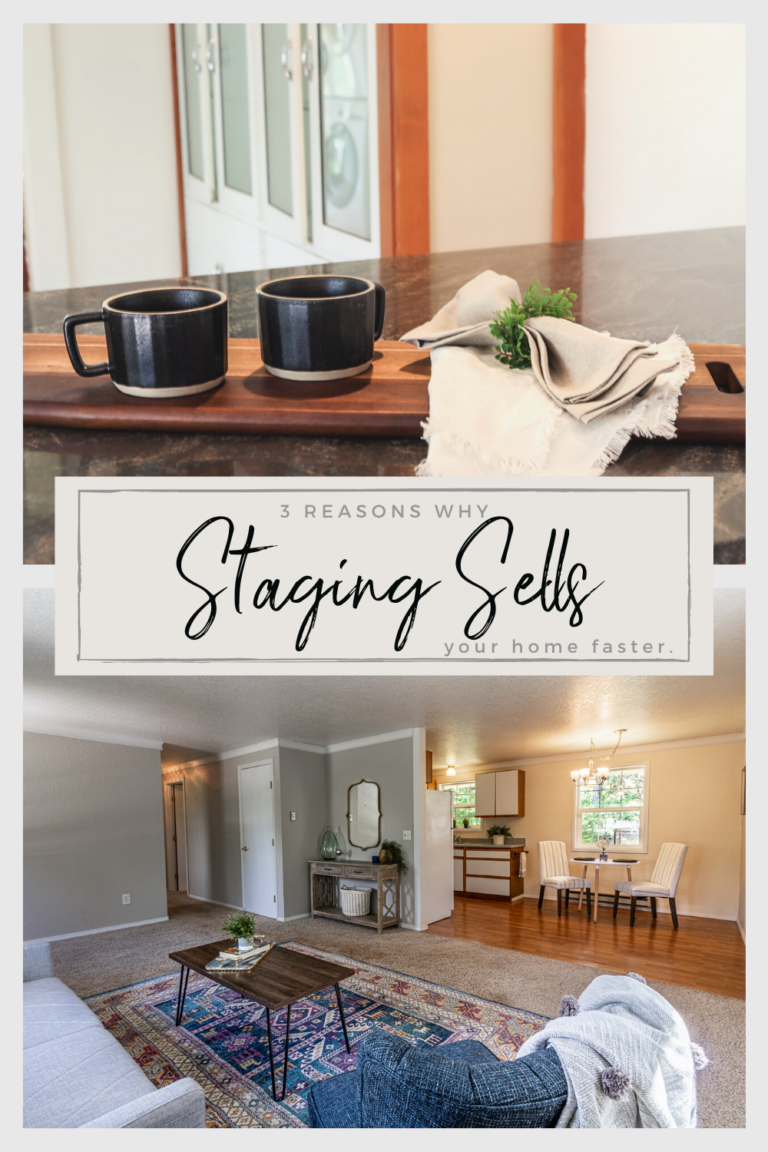Why staging sells